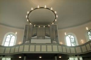 50 Jahre Ruth Marthiensen an der Orgel