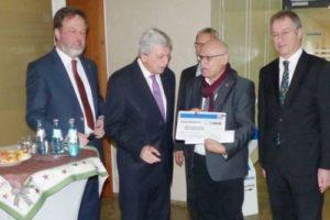 Ministerpräsident Bouffier besucht Diakonisches Werk im Technologiepark Hanau-Wolfgang