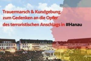 Pressemitteilung zu dem geplanten Trauermarsch am Sonntag dem 23.2.2020 ab 14:00 Uhr