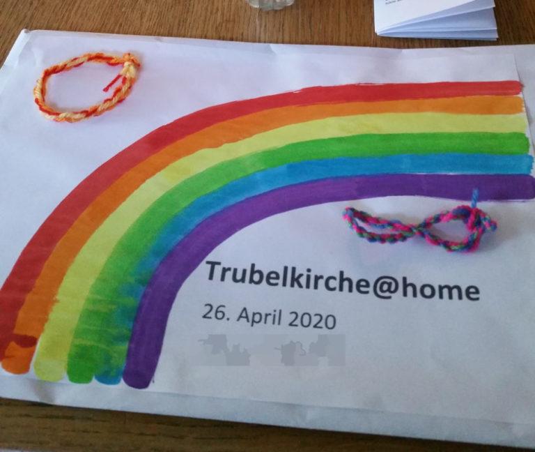 Im Umschlag kamen diesmal die Materialien zu den Teilnehmer nach Hause